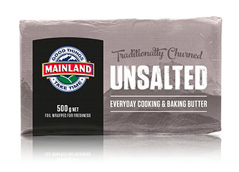 Mainland Natural Unsalted Butter