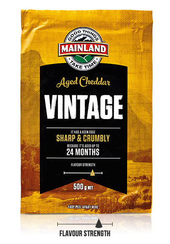 Mainland Vintage Cheddar Cheese Block
