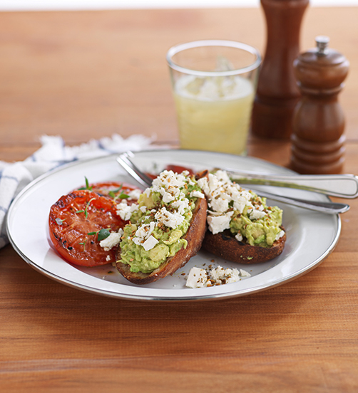 Avocado & Feta Toast