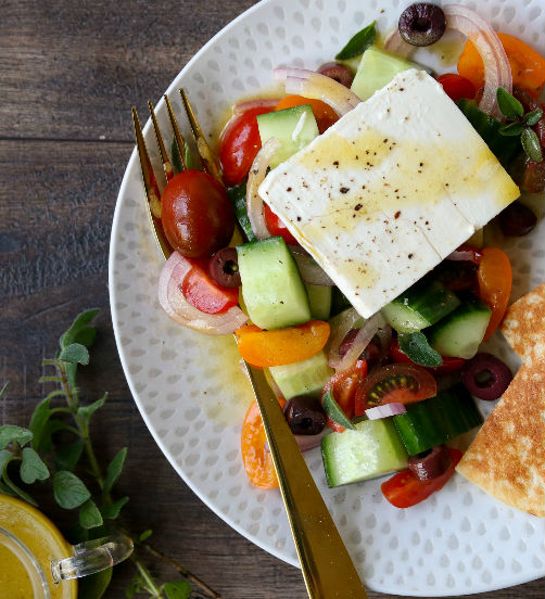 Sharing Style Greek Salad
