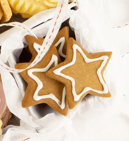 Spicy Gingerbread stars