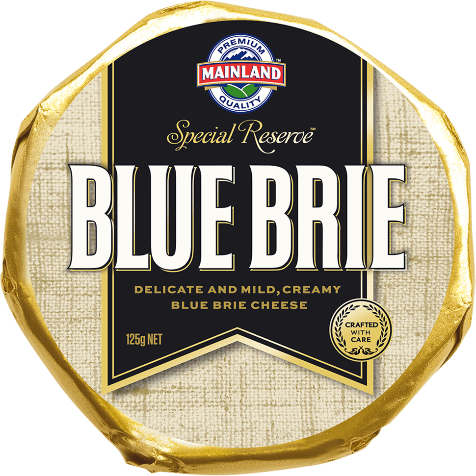 Mainland Special Reserve Blue Brie Speciality Cheese