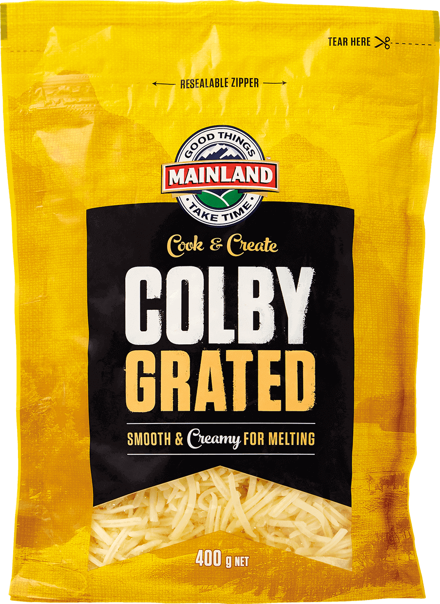 Mainland Colby Grated Cheese