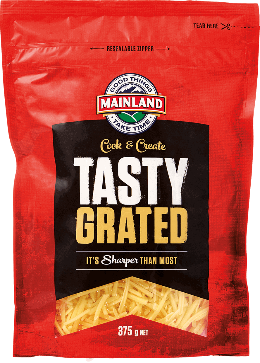 Mainland Tasty Grated Cheese